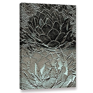 Bungalow Rose 'Two Perry Agaves' Graphic Art Print on Wrapped Canvas; 24'' H x 16'' W x 2'' D