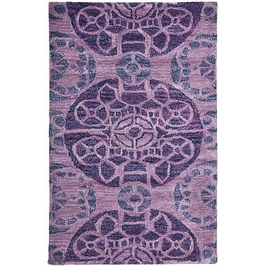 Bungalow Rose Kouerga Purple Rug; 4' x 6'