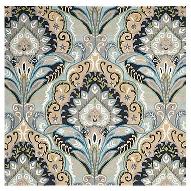 Bungalow Rose Kouerga Blue / Multi Rug; Square 7'