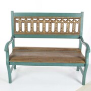 Bungalow Rose Dudley Wood Bench
