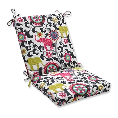 Bungalow Rose Hardy Outdoor Dining Chair Cushion; Spectrum