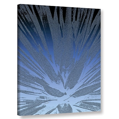 Bungalow Rose 'Modern Agave Blue' Graphic Art Print on Canvas; 10'' H x 8'' W x 2'' D
