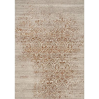 Bungalow Rose Billerica Gray/Orange Area Rug; 7'10'' x 10'10''