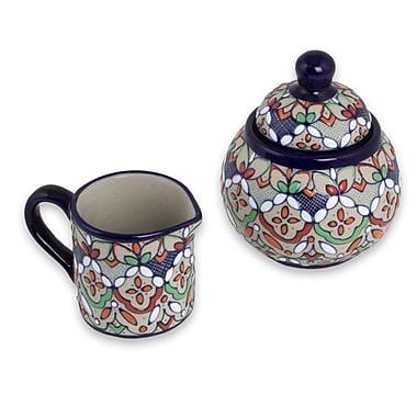 Bungalow Rose Townsend Guanajuato Festivals Ceramic Sugar & Creamer Set