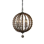 Bungalow Rose Roman 4-Light Globe Pendant