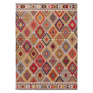 Bungalow Rose Chevell Western Area Rug; 2' x 3'
