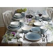 Bungalow Rose Fez 20 Piece Dinnerware Set, Service for 4; Grey