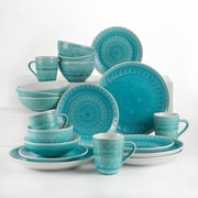 Bungalow Rose Fez 20 Piece Dinnerware Set, Service for 4; Turquoise