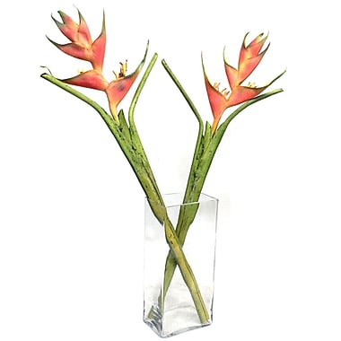 Bungalow Rose Faux Heliconia Flower in Planter