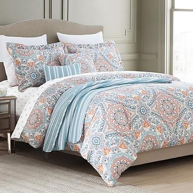 Bungalow Rose Durango 10 Piece Reversible Comforter Set; King