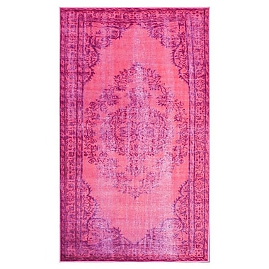 Mistana Nielsen Pink Area Rug; 8'2'' x 9'11''