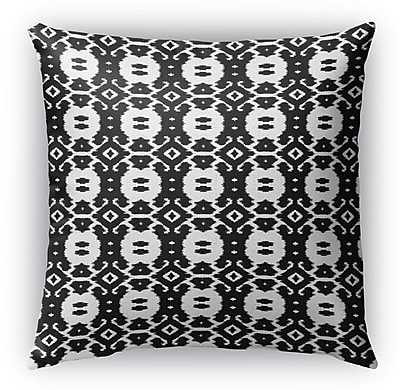 Bungalow Rose Devynn Indoor/Outdoor Throw Pillow; 16'' H x 16'' W x 6'' D