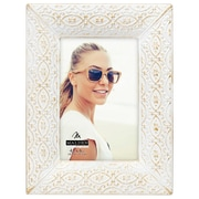Bungalow Rose Ornate Metal Picture Frame; 4'' x 6''