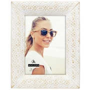 Bungalow Rose Ornate Metal Picture Frame; 5'' x 7''