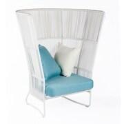 Bungalow Rose Fontane High Back Chair w/ Cushions
