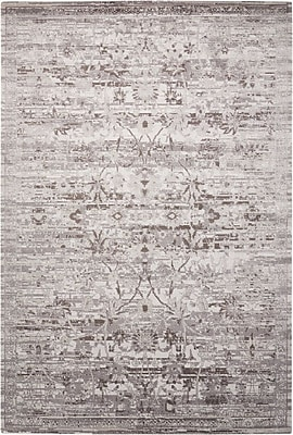 Bungalow Rose Arabelle Silver Area Rug; 5'6'' x 8'