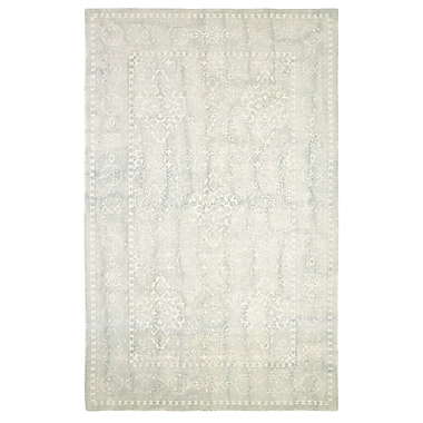 Bungalow Rose Anamaria Hand-Woven Light Blue Area Rug; 5' x 8'