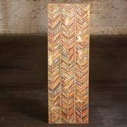 Bungalow Rose 'Herringbone' Print on Wood