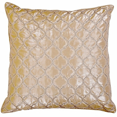 Sivaana Crystallize Morocco Silk Throw Pillow