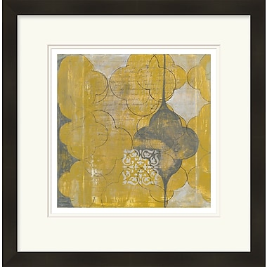 Bungalow Rose 'Marrakesh II' Framed Graphic Art