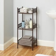 Bungalow Rose Griffin 14.5'' W x 36'' H Bathroom Shelf; Oil Rubbed Bronze