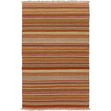 Bungalow Rose Barnesbury Striped Rug; 2' x 3'