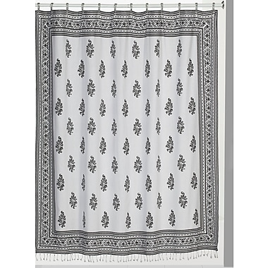 Bungalow Rose Blumer 100pct Cotton Shower Curtain
