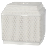 Bungalow Rose Boadle Boutique Tissue Box Cover; White
