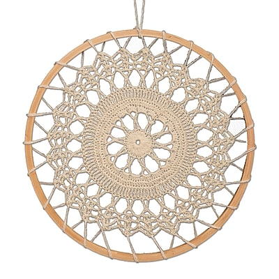 Bungalow Rose Crochet Bohemian Wall D cor