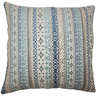 Bungalow Rose Brunwood Ikat Floor Pillow