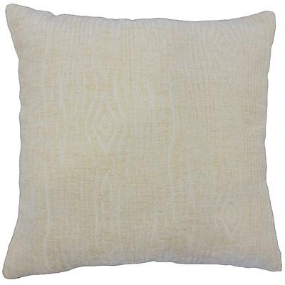 Bungalow Rose Ceri Solid Floor Pillow; Jute