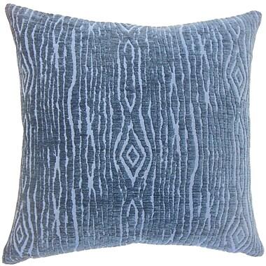 Bungalow Rose Ceri Solid Floor Pillow; Navy