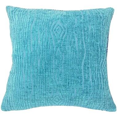 Bungalow Rose Ceri Solid Floor Pillow; Peacock