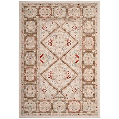 Bungalow Rose Chauncey Ivory Area Rug; 8' x 10'