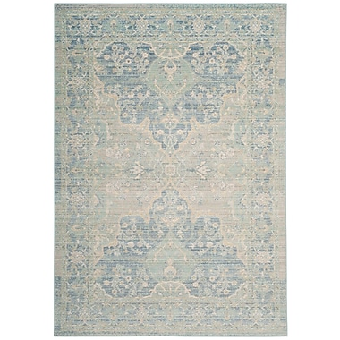 Bungalow Rose Chauncey Seafoam Area Rug; 3' x 5'