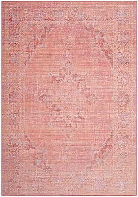 Bungalow Rose Chauncey Pink Area Rug; 3' x 5'
