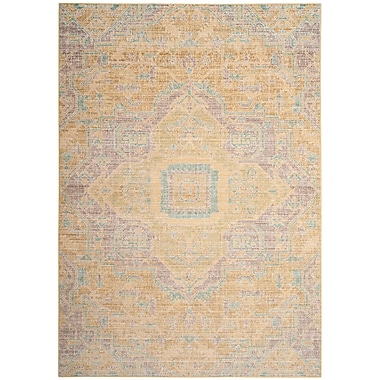 Bungalow Rose Chauncey Light Gray Area Rug; Round 6'