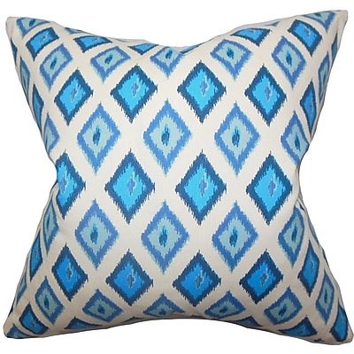 Bungalow Rose Brisbane Geometric Cotton Throw Pillow Cover