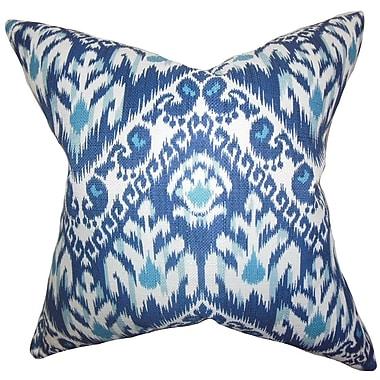Bungalow Rose Bristow Ikat Throw Pillow Cover