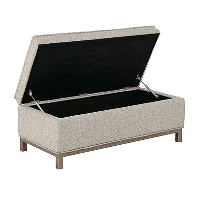 Ink + Ivy Grant Upholstered Storage Bench