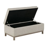 Ink + Ivy Grant Upholstered Storage Bench