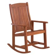 Loon Peak Danny Wooden Rocking Chair
