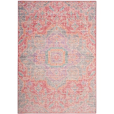 Bungalow Rose Chauncey Pink Area Rug; 8' x 10'