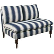Bungalow Rose Chesney Armless Loveseat in Jiri