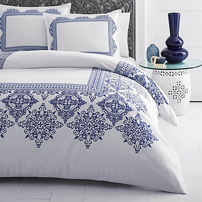 Bungalow Rose Daly Digital Printed Duvet Cover Set; Twin WYF078281578482