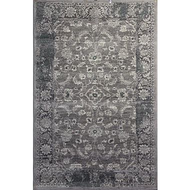 Bungalow Rose Doline Gray Area Rug; 5' x 7'6''