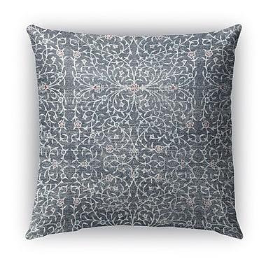 Bungalow Rose Elizebeth Burlap Indoor/Outdoor Throw Pillow; 16'' H x 16'' W x 5'' D