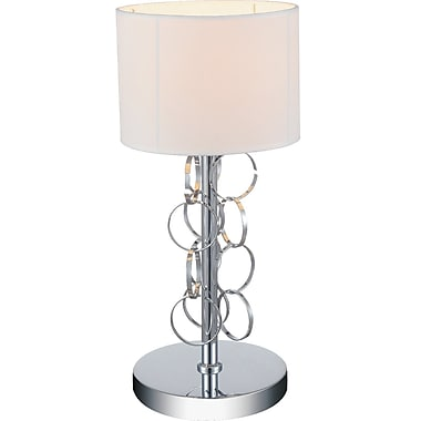 CrystalWorld Chained 17'' Table Lamp