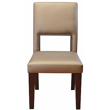 DHC Furniture Beautiful Panoramic Upholstered Dining Chair