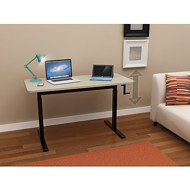 Z-Line (ZL7000-48DU) Adjustable Height Desk (Manual Crank)